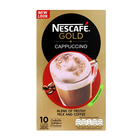 Nescafe Gold Unsweetened Cappuccino Sachets 10s