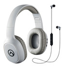Amplify 2 in 1 Headphone Bluetooth Grey