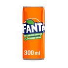 Fanta Orange 300ml Can x 24