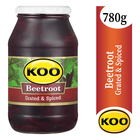 Koo Grated & Spiced Beetroot 780g