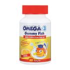 Star Kids Omega 3 Gummy Fish 60ea