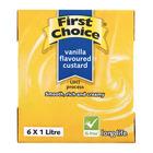 First Choice Uht Custard 1l