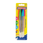 Penflex Coloured Pens Assorted 5s