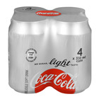 Coca-Cola Light Can 330ml x 4
