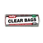 Tuffy Clear Refuse Bags 20ea