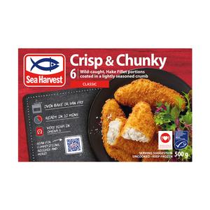 Sea Harvest Crisp & Chunky Classic Hake 500g