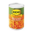 Koo Chakalaka Mild&spicy W Beans 410gr