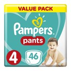 Pampers Baby-Dry Size 4 Value Pack, 46 Nappy Pants