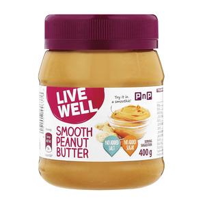 PnP Smooth Peanut Butter No Sugar 400g