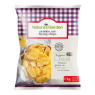Natures Garden Crinkle Cut Fry Chip 1kg