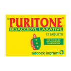 Puritone Bisacodyl Blister Tablets 12ea