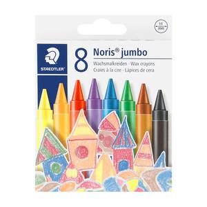 Staedtler Wax Crayons Jumbo 8ea