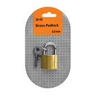PnP Padlock Brass 32mm