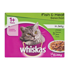 Whiskas Multipk Fish & Meat In 12x85g