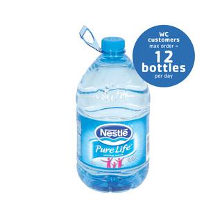 Nestle Pure Life Still Mineral Water 5l x 4