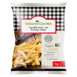 Natures Garden Steakhouse Cut Chips 1kg
