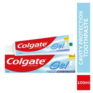 Colgate Maximum Cavity Protection Gel Toothpaste 100ml