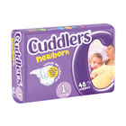 Cuddlers Newborn Diapers Size1 48 Ea