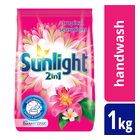 Sunlight 2in1 Freshness of Petals Handwash Washing Powder 1kg