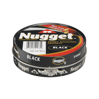 Nugget Black Shoe Polish 100 Ml