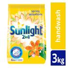 Sunlight 2in1 Summer Sensations Handwash Washing Powder 3kg