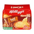 KELLOGG'S NOODLES BEEF 5EA