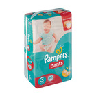 Pampers Disposable Pants Midi Jumbo Pack 60s