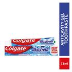 Colgate Max Fresh Cool Mint Gel Toothpaste 75ml