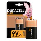 Duracell Alkaline Batteries Plus Power 9V