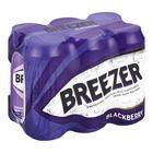 BACARDI BREEZER BLACKBERRY 440ML x 6