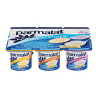 Parmalat Banana Custard Blueberry Cheesecake & Coconut Biscuit Yoghurt 6s