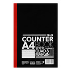 PnP A4 192 Page Counter Book