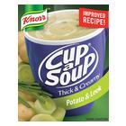 Knorr Cup-A-Soup Thick & Creamy Potato & Leek 3s