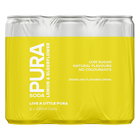 Pura Soda Lemon & Elderflower 330ml x 6