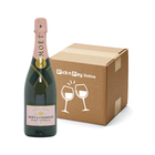 Moet & Chandon Brut Rose Imp NV Champ 750ml x 6