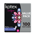 Kotex Pantyliners Unscented 100s