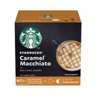Starbucks Caramel Macchiato by Nescafe Dolce Gusto Coffee Pods 6s