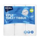 PnP 2 Ply White Toilet Paper 9s