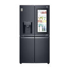 LG Instaview Double Door Fridge Mirror Black 889l