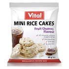 Vital Mini Rice Cakes Fruit Chutney 30g