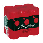 Grapetiser 100% Sparkling Red Grape Juice 330ml x 6