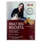 PnP Beef Flavour Dog Biscuits 1kg