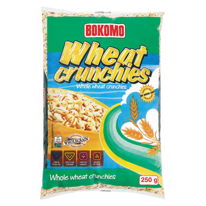 Bokomo Puffed Wheat Wholesom e Wheat Puffs 250 GR