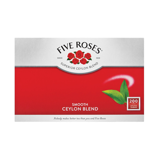 Five Roses Tagless Teabags 200ea
