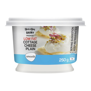 PnP Low Fat Smooth Plain Cottage Cheese 250g