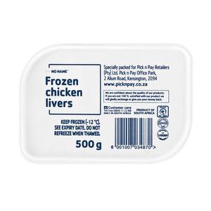 No Name Frozen Chicken Liver 500g