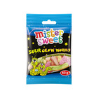 Mister Sweet Bag Sour Glow W orms Sweets 60 GR