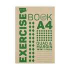 PnP A4 72PG Quad & Margin Exercise Book