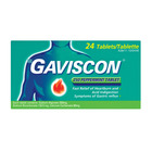 Gaviscon Antacid Tablets Peppermint 24ea