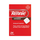 Rennie Aniseed Tablets 24s